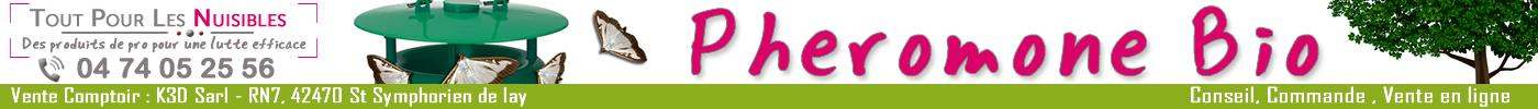Lutte biologique avec des phéromones